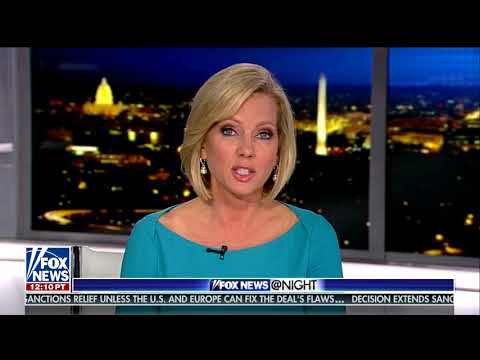Fox News @ Night - Shannon Bream - January 12, 2018 - Archive