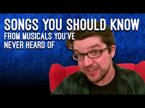 Songs You Should Know From Musicals You've Never Heard Of