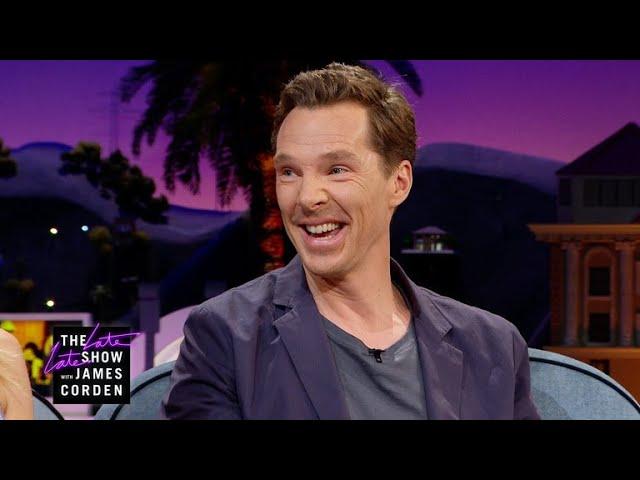 Benedict Cumberbatch Gets Jacked w/ Coffee & Skittles