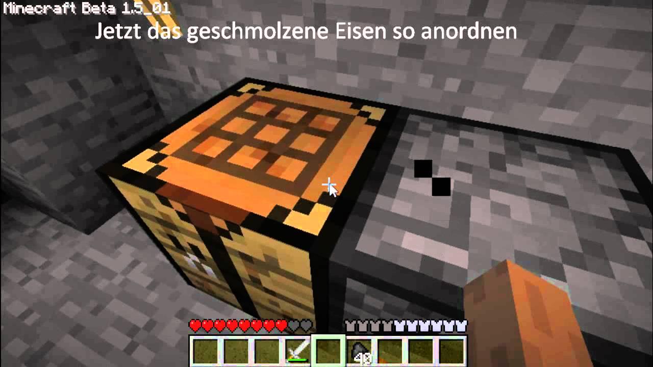 In Minecraft Eisen finden – wikiHow