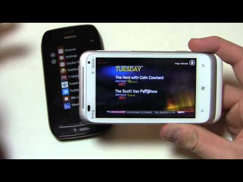 Nokia Lumia 710 vs. HTC Radar 4G Dogfight Part 2