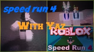 Roblox- Playing Speed Run 4 Avec Yaz
