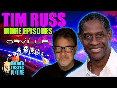 The Orville Season 2 - Tim Russ and MORE EPISODES!!!   TALKING THE ORVILLE