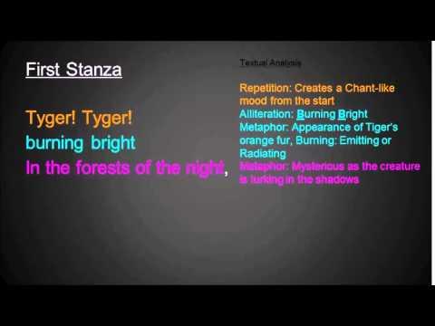 Analysis of 'The Tyger' by William Blake