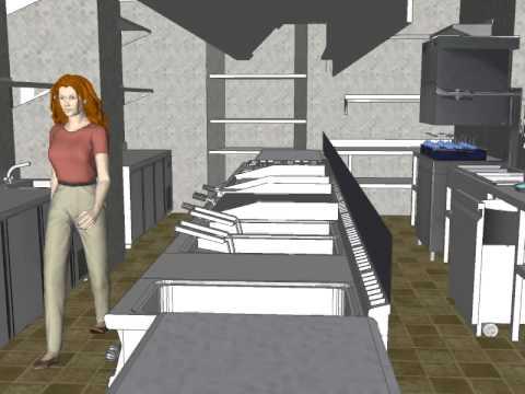 Nuevo dise o 3d cocina segura de leon youtube for Diseno cocinas 3d gratis espanol
