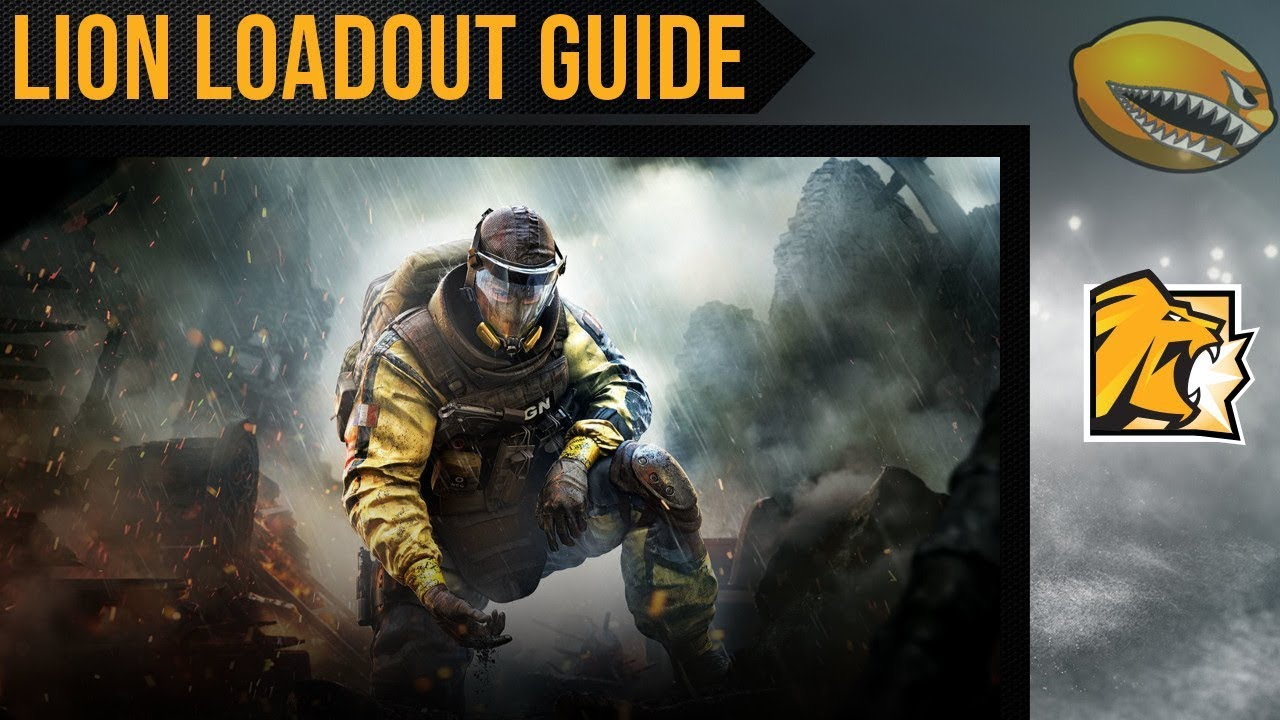 Best Lion Loadout Guide Rainbow 6 Siege Gameplay | eLemonadeR R6 | #R6
