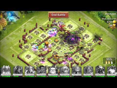 Jtisallbusiness Castle Clash Full Run Of Expeditions Tons Of HonorBadges And Merits