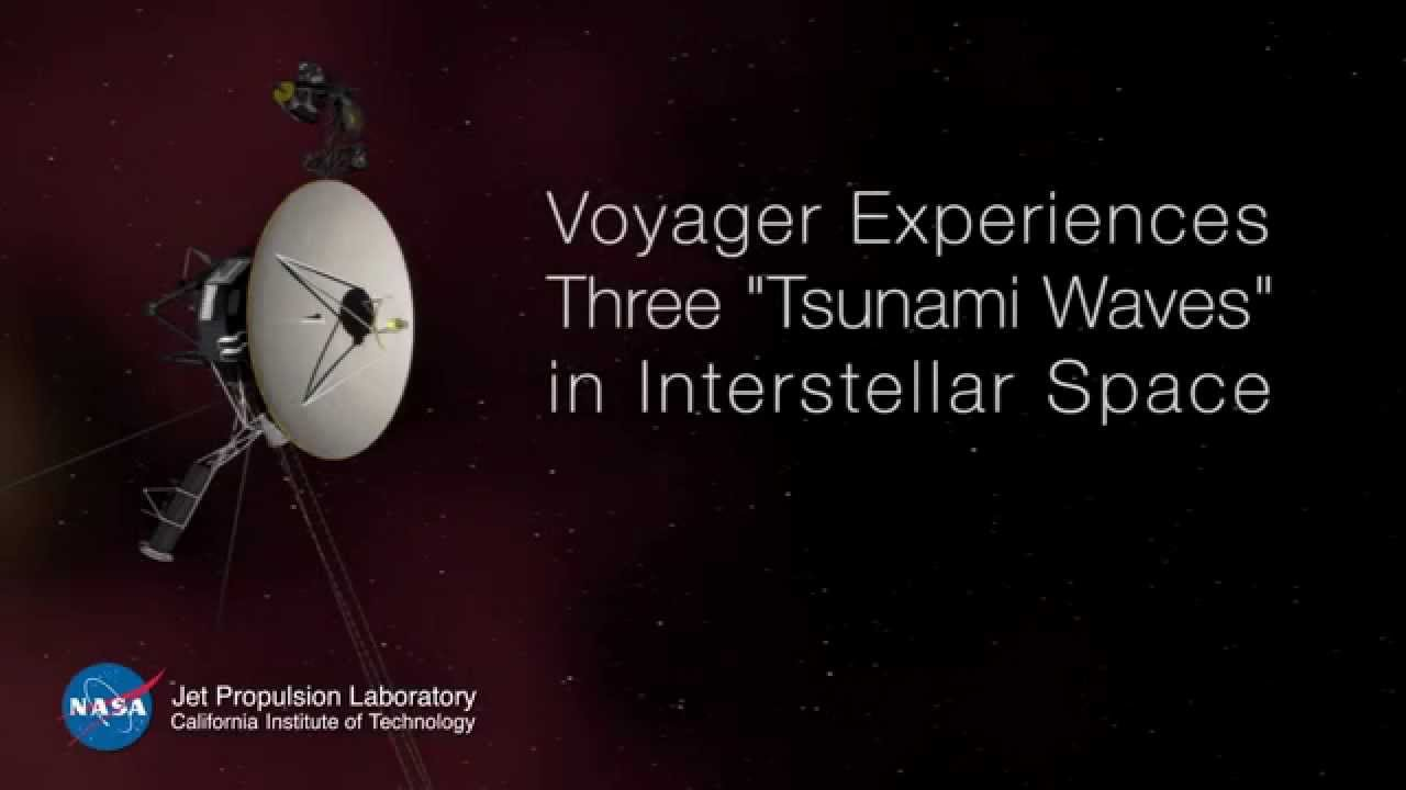 """Voyager 1 Experiences Three """"Tsunami Waves"""" in ..."""
