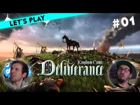 [1/4] Let's Play Kingdom Come: Deliverance mit Micha und Tim   Packende Story   17.03.2016