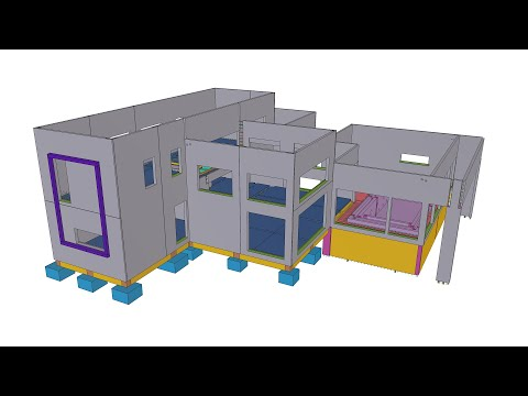Tekla BIM Awards France 2020 : GUILLERM  - Pavillon
