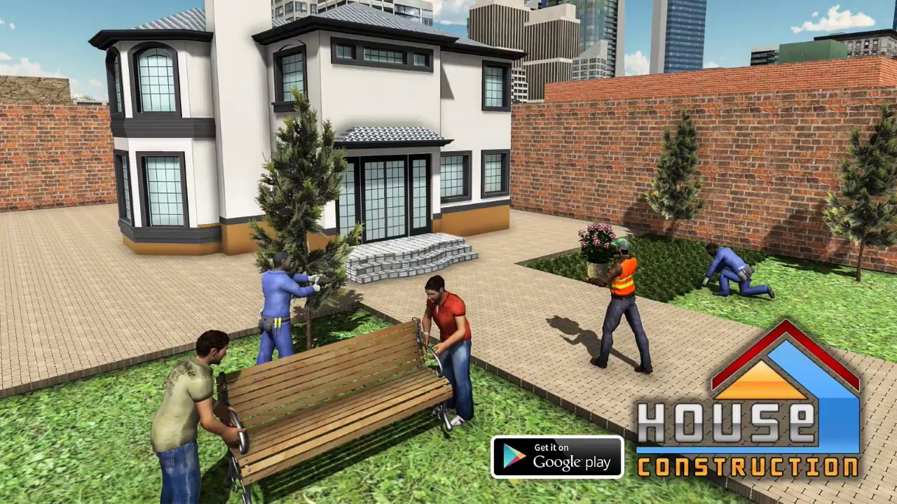 House Building Construction Games City Builder Youtube