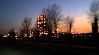 Огни города-завода Ярославль-Нефтепродукт