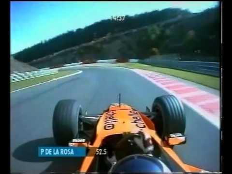 F1 Spa 2000   Pedro De La Rosa Lap , Arrows F1