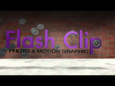 Flash Clip Photo & Motion Graphic 3D