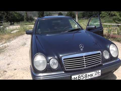 Обзор Mercedes-Benz E200 (W210) 1999 год. часть 1.