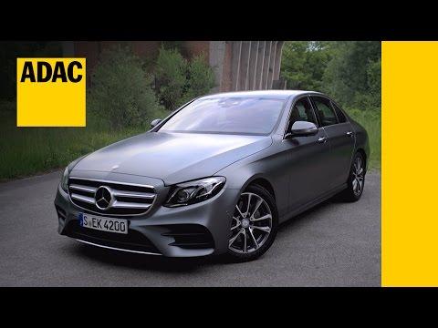 Mercedes-Benz E 220 d im Test | Autotest 2016 | ADAC