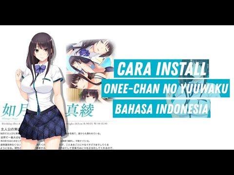 Cara Menginstall Game Onee-Chan No Yuuwaku Vn Ver Android