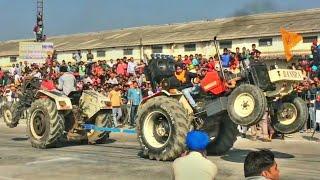 Swaraj 855 vs Preet 6049 tractor tochan