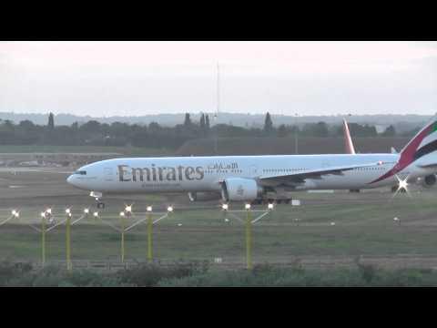 Birmingham Airport evening arrivals 18th June 2015