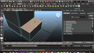 Maya 3d Modellingtutorial - A Simple Bedside Cabinet
