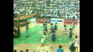 Nick Galis against everyone in Eurobasket 1987