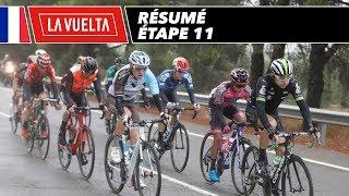 Résumé - Étape 11 - La Vuelta 2017