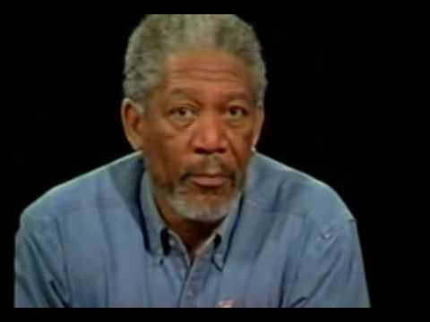 Charlie Rose Intimate interview with  Morgan Freeman
