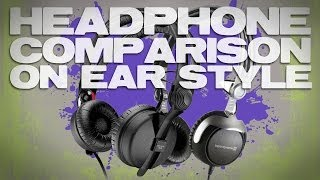 Headphone Comparison and Review Sennheiser HD25-1 mkii vs BeyerDynamic DT1350 On-Ear Style