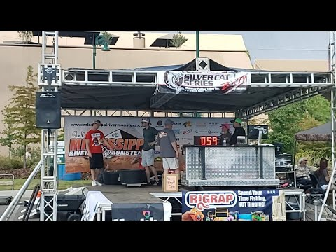 LIVE! 2019 Mississippi River Monsters Tournament Weigh In
