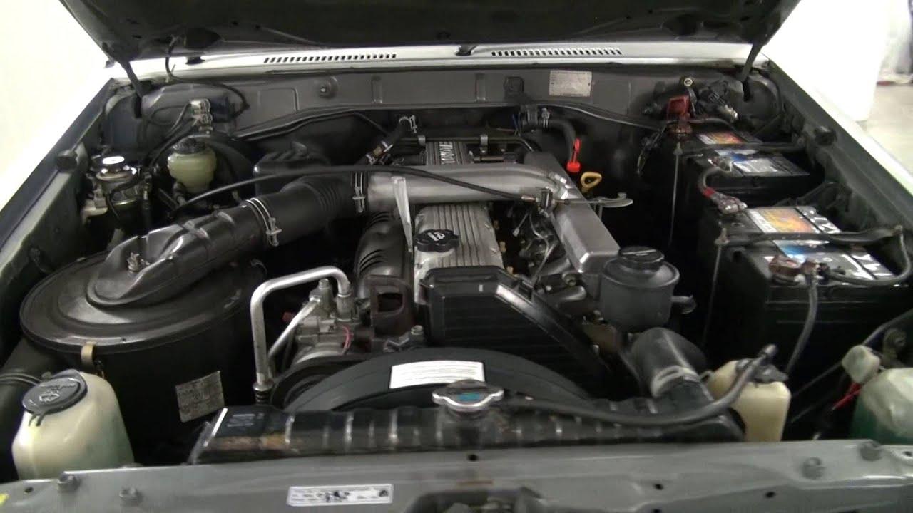 1990 Toyota Land Cruiser HZJ77 - 1HZ Engine - YouTube