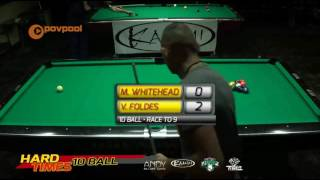 #8 - Mark WHITEHEAD vs Vilmos FOLDES • 2016 Hard Times 10-Ball thumbnail