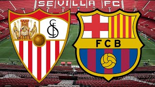 Barça face one of their biggest remaining tests this season with a trip to the ramon sanchez pizjuan in-form sevilla. quique setién has number i...