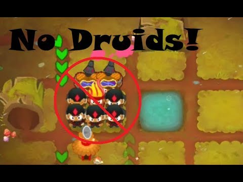 Deflation Mode Round 100+ Without Druids | Bloons TD 6