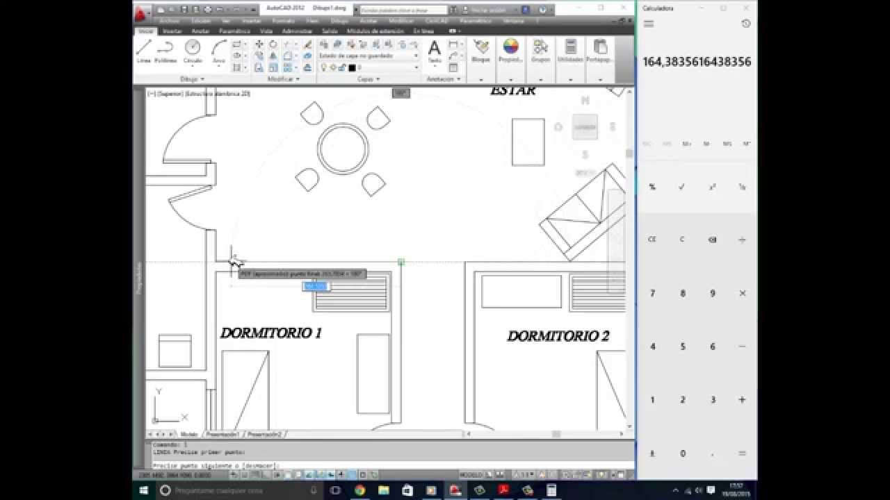Insertar y escalar un plano en formato pdf en autocad for Pie de plano arquitectonico pdf