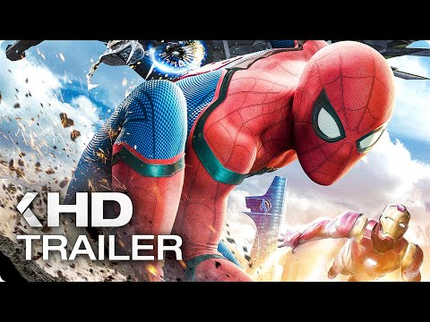 SPIDER-MAN: Homecoming Opening Scene & Trailer (2017)