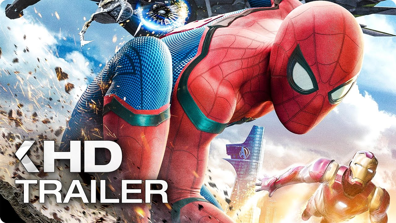 SPIDER-MAN: Homecoming Opening Scene & Trailer (2017)
