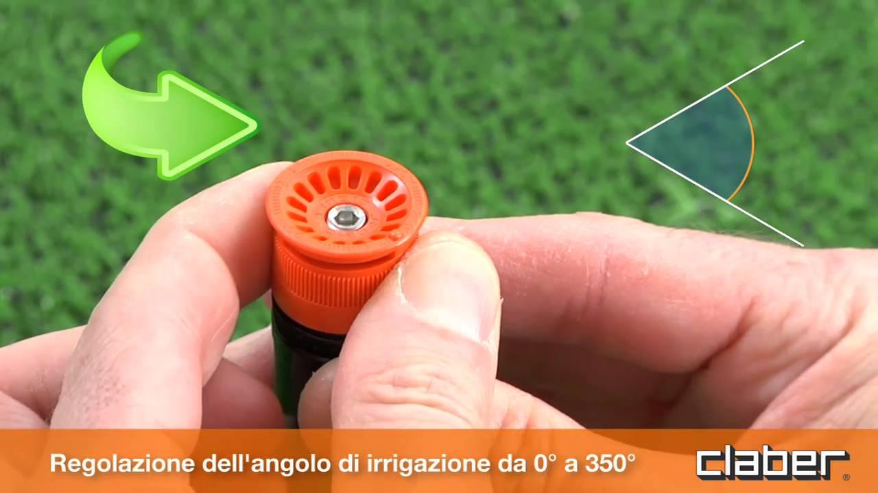 Irrigatore pop up youtube for Pop up per irrigazione