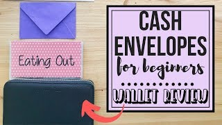 Cash Envelope System (FOR BEGINNERS) | CASH ENVELOPE WALLET REVIEW | Naturally Lizzie