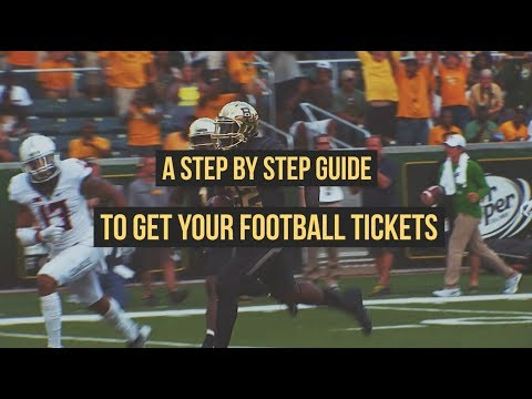 Baylor Football Student Ticket Process, Step By Step