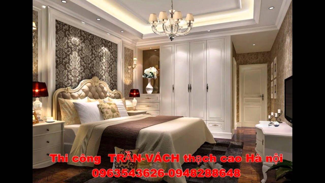 mẫu trần thạch cao nhà chung cư