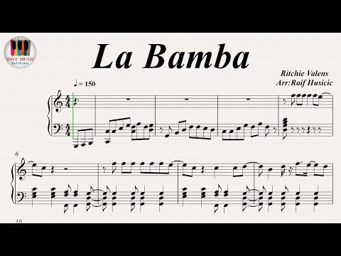 La Bamba - Ritchie Valens, Piano