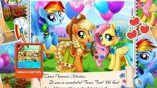 NEW мультик онлайн для девочек—Вечеринка My Little Pony—Игры для детей