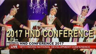 3 HMONG TV | Luna Bellas dance group performed at 2017 HND Conference.