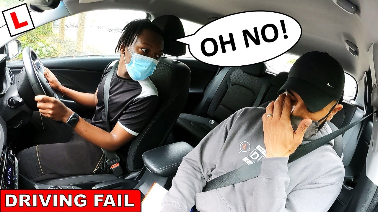 It Was Going So Well! DRIVING TEST FAIL
