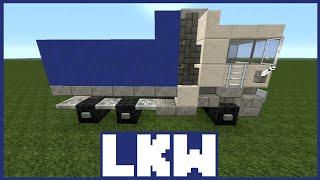 minecraft tutorial lkw bauen deutsch. Black Bedroom Furniture Sets. Home Design Ideas