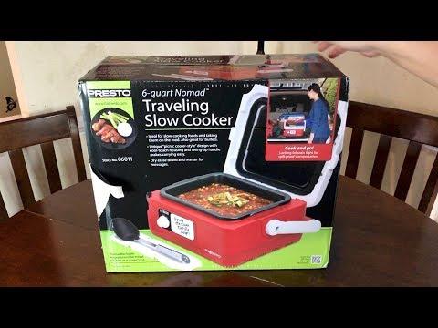 Presto 6-Quart Nomad Traveling Slow Cooker