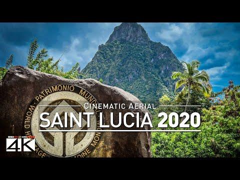 4K Drone Footage SAINT LUCIA [DJI Phantom 4]