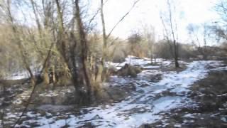 Старі місток і кладка на річці Вільшанка у селі Сухоносівка