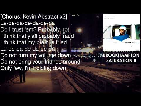 BROCKHAMPTON - JELLO - Lyrics [HD&HQ]