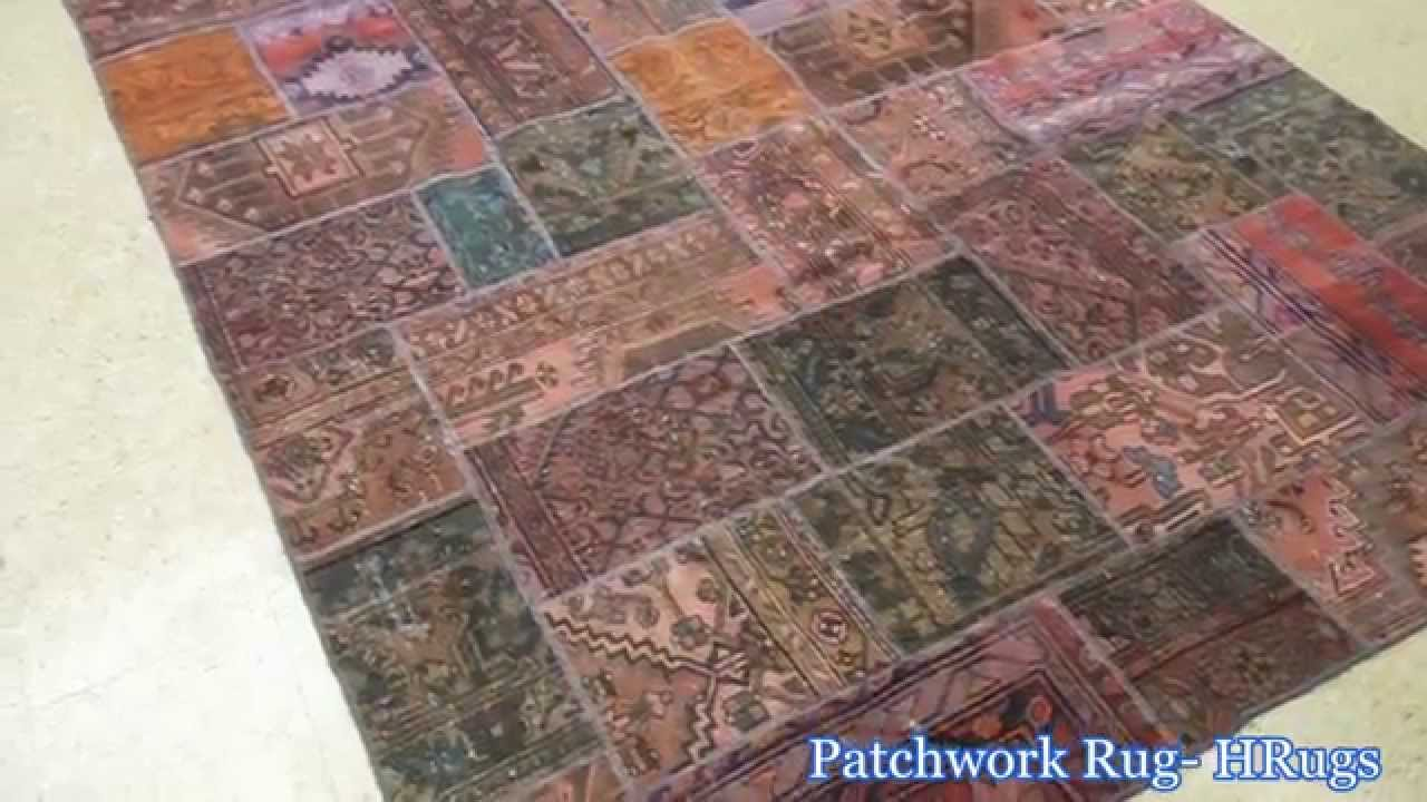Persian patchwork Handmade Rugs 4x6 ft, 5x8 ft, 6x9 rugs 7x10 ft, 9x12 ft  rugs from HRugs